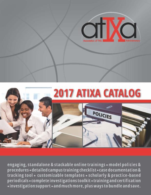 ATIXA Catalog