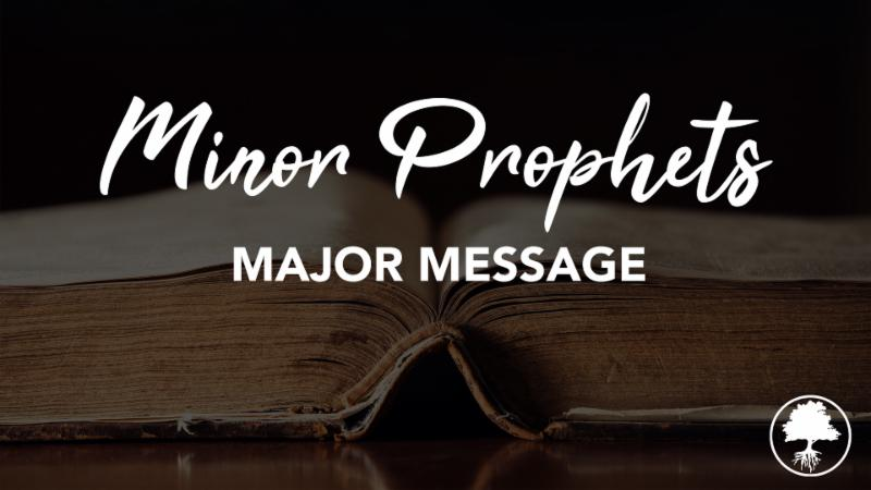 Minor Prophets Be Concerned Making A Difference In Your Lifetime