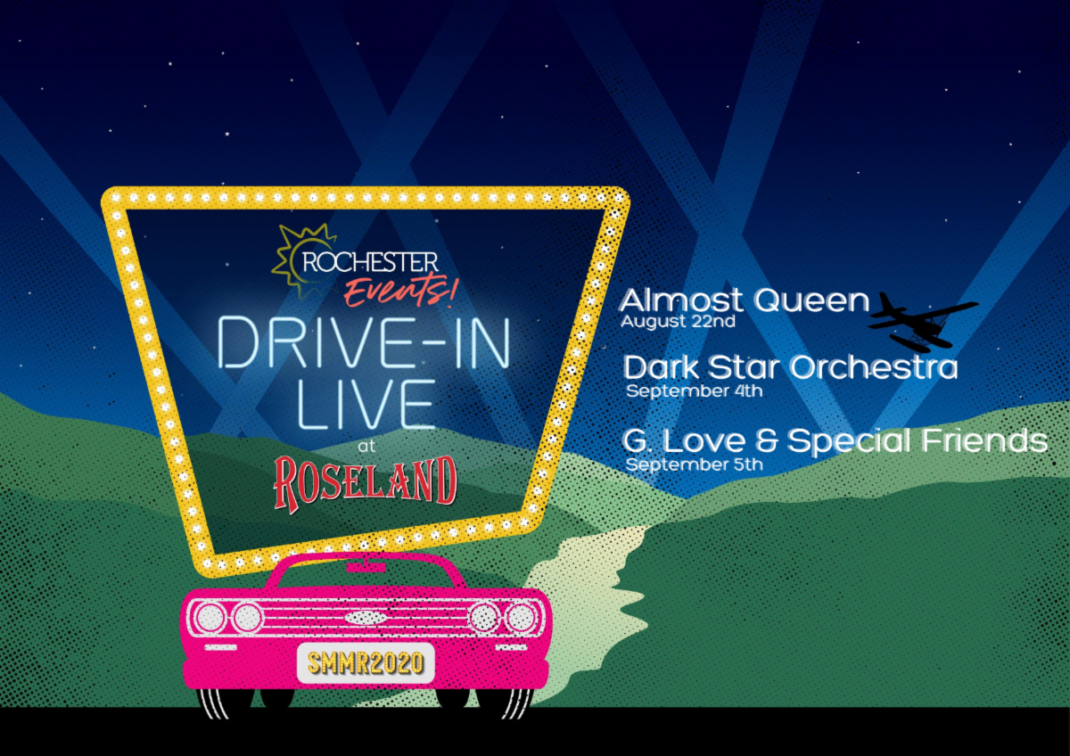 Drive In Events at Roseland Waterpark