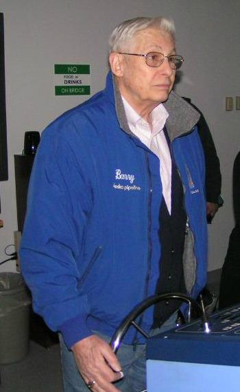 Captain Barry Eldridge