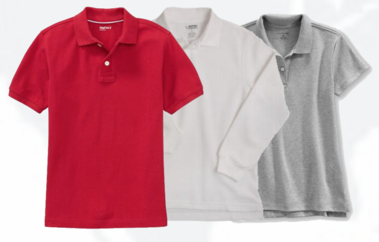Uniform shirts for Primary