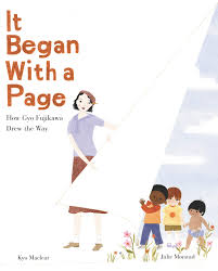 Cover of picture book, It Began With a Page