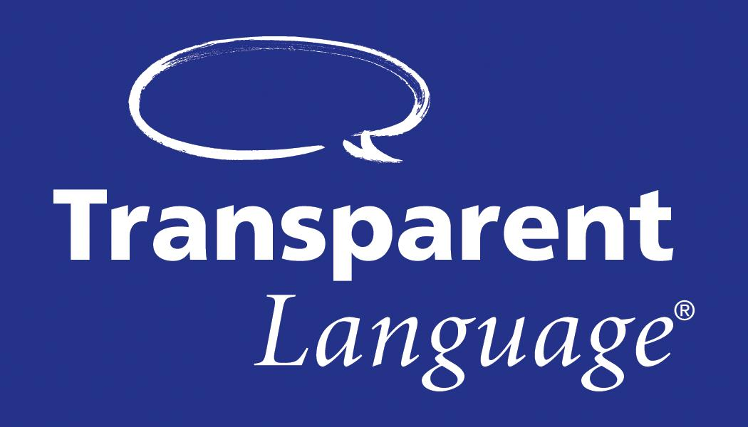 logo for Transparent Language online