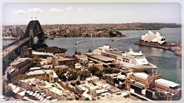View from Shangri-La, Sydney, Australia