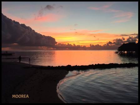 Moorea Sunset at the Hilton Moorea Lagoon Resorts & Spa - TRU Incentives, Incentive Travel