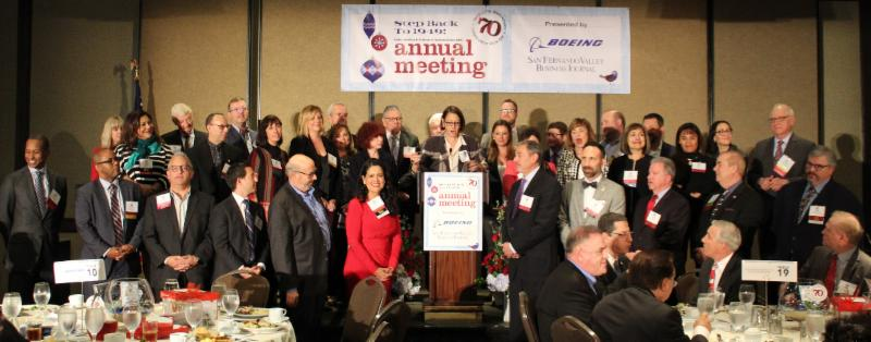 Assemblymember Laura Friedman Inducts Board