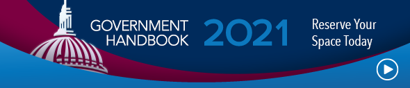 Click to reserve your ad space in the Government Handbook 2021