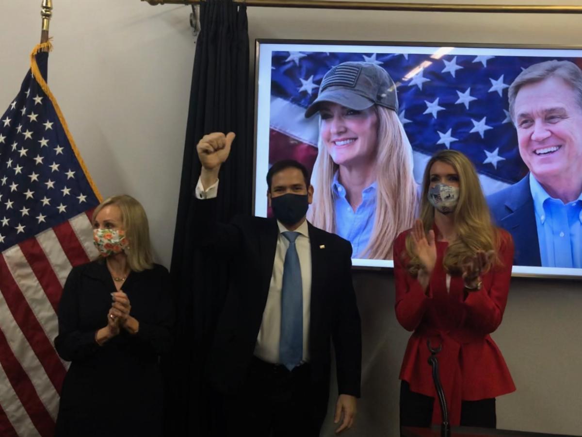 "Photo Release: Senator Rubio Headlines ""Save our Majority"" Rally for Senators Loeffler, Perdue 5"