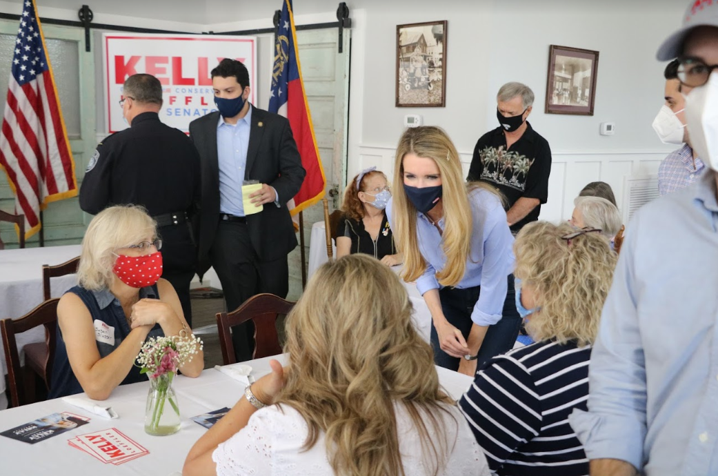 Kelly Loeffler at Camden County Meet-and-Greet in St. Mary's, Georgia