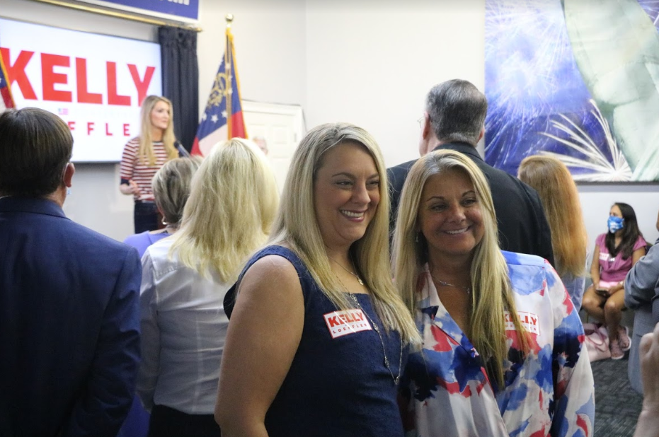Kelly Loeffler Holds Campaign Rally in Cobb County