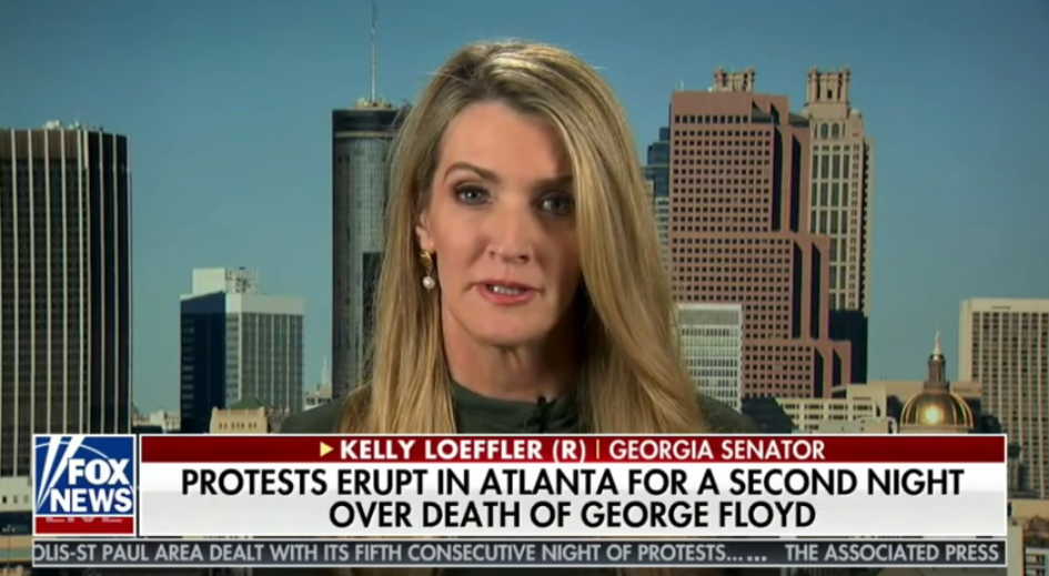 Kelly Loeffler: Violent Protest is Not What Georgia is About