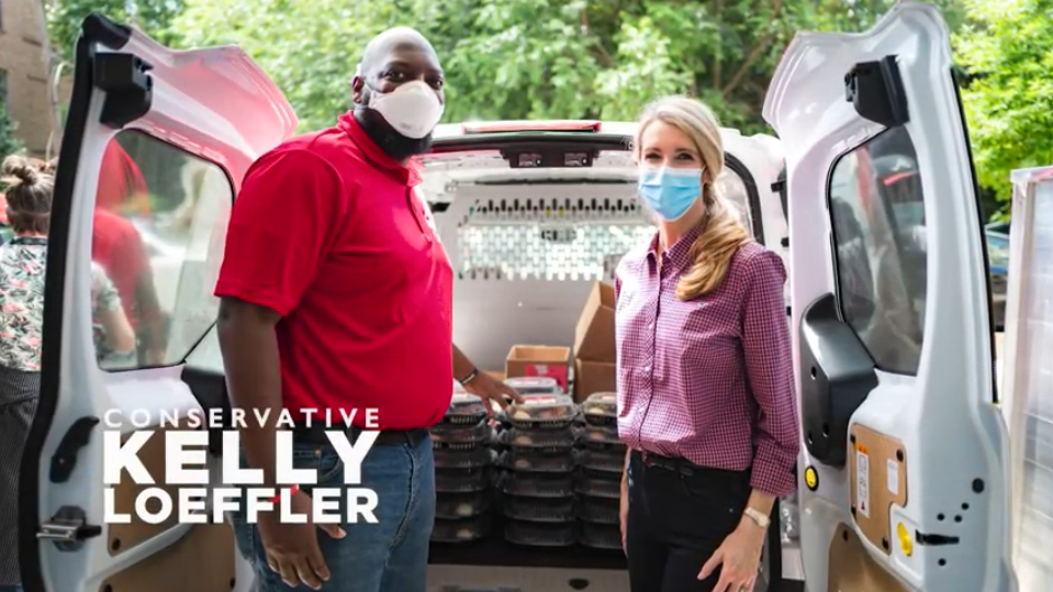 Kelly Loeffler's New Television Ads Highlight Community Work During COVID-19