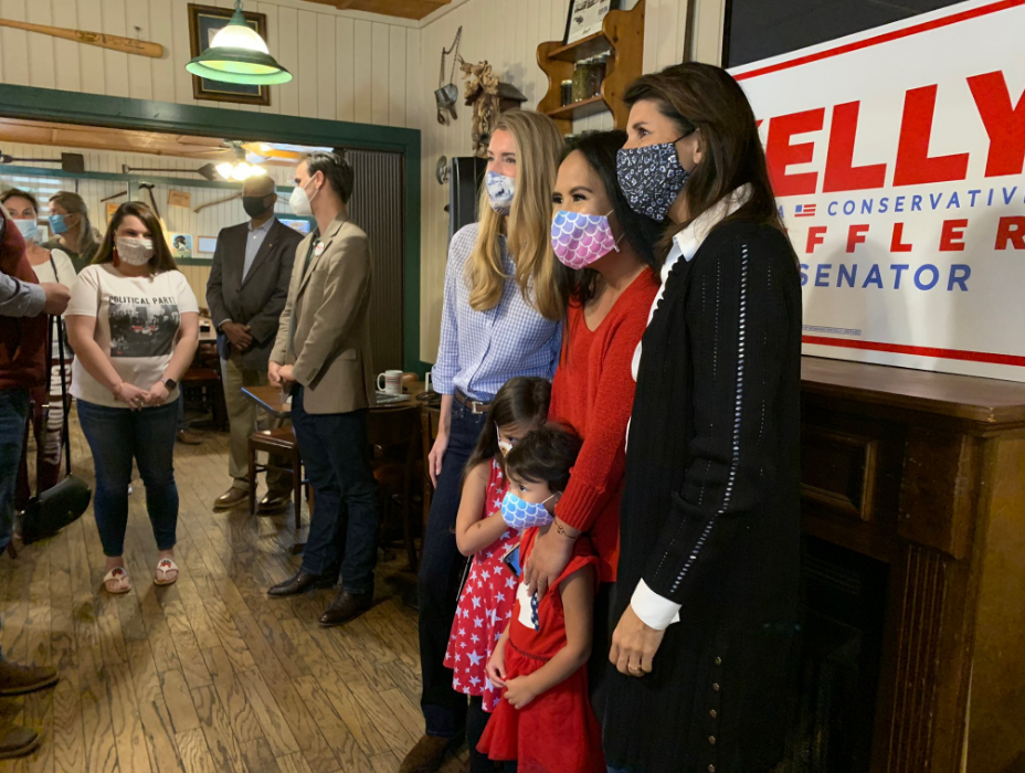 Photo Release: Nikki Haley Joins Senator Loeffler on Campaign Trail Ahead of Election Day 5