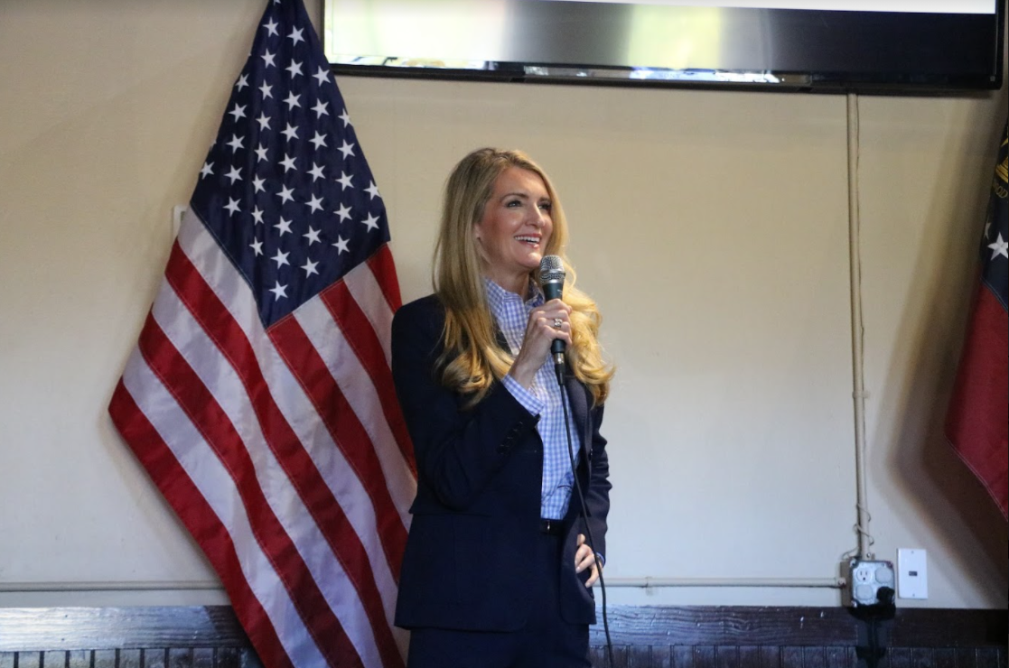 Photo Release: Kelly Loeffler Speaks at Faith & Freedom Policy Conference, Campaigns in Forsyth County with Senator Marsha Blackburn 6