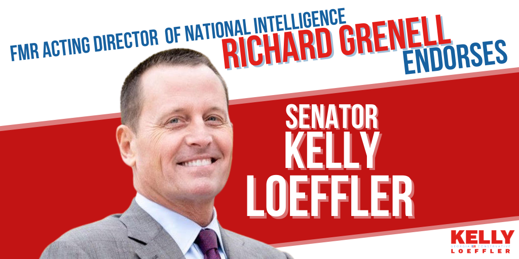 Richard Grenell Endorses Kelly Loeffler for U.S. Senate 1