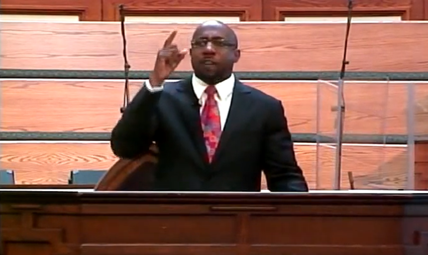 "Uncovered Footage: Raphael Warnock Claims ""Nobody Can Serve God and the Military"" 1"