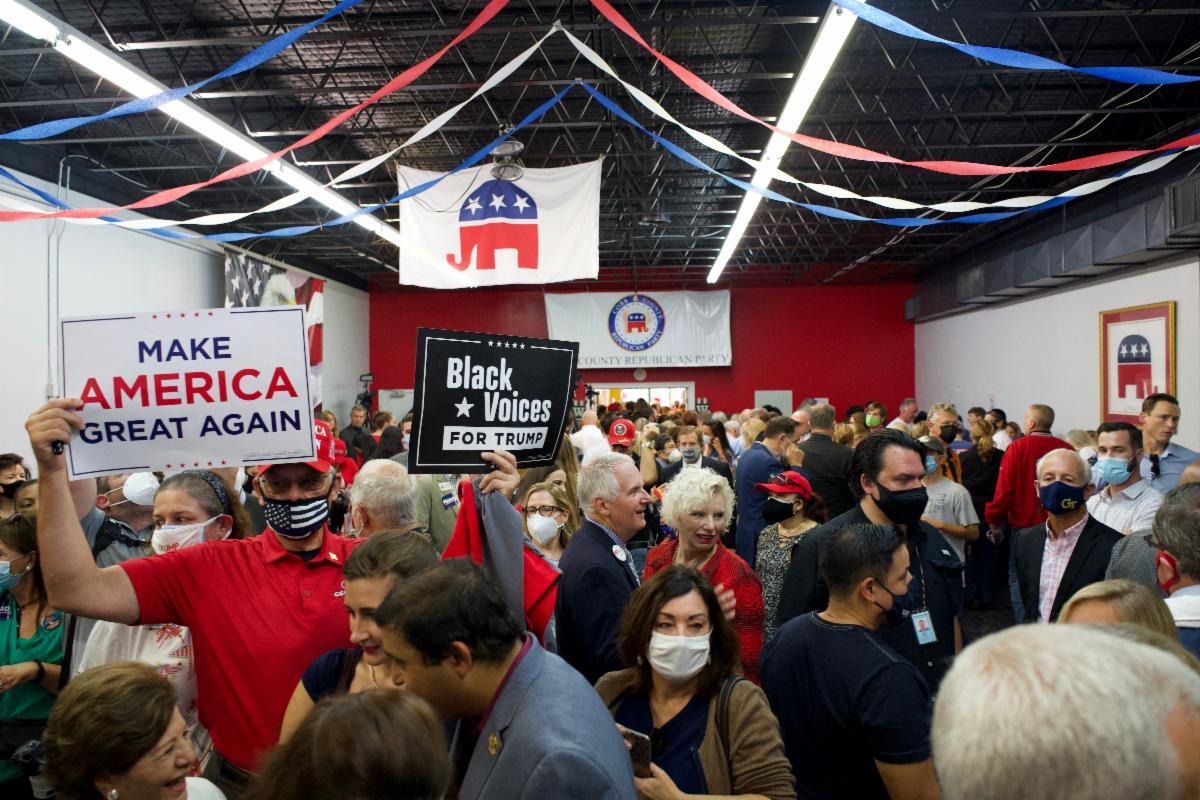 "Photo Release: Senator Rubio Headlines ""Save our Majority"" Rally for Senators Loeffler, Perdue 4"