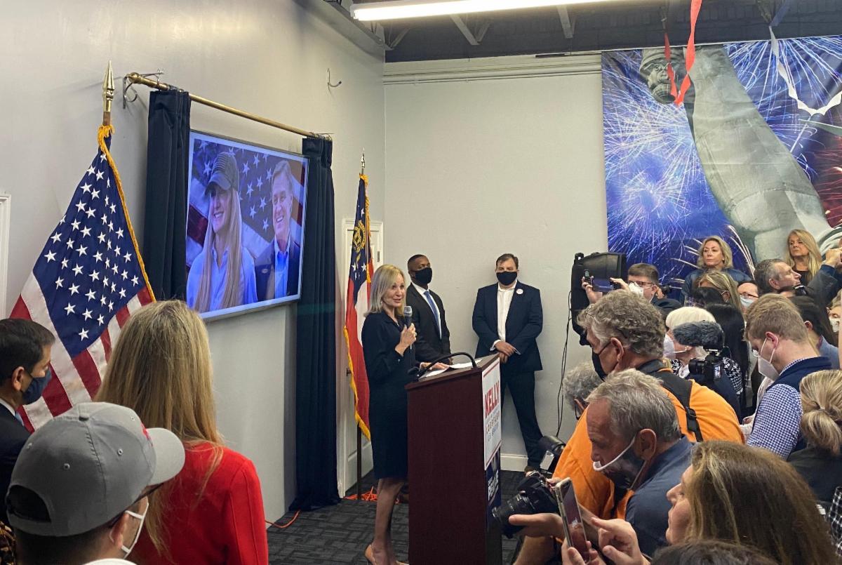 "Photo Release: Senator Rubio Headlines ""Save our Majority"" Rally for Senators Loeffler, Perdue 3"