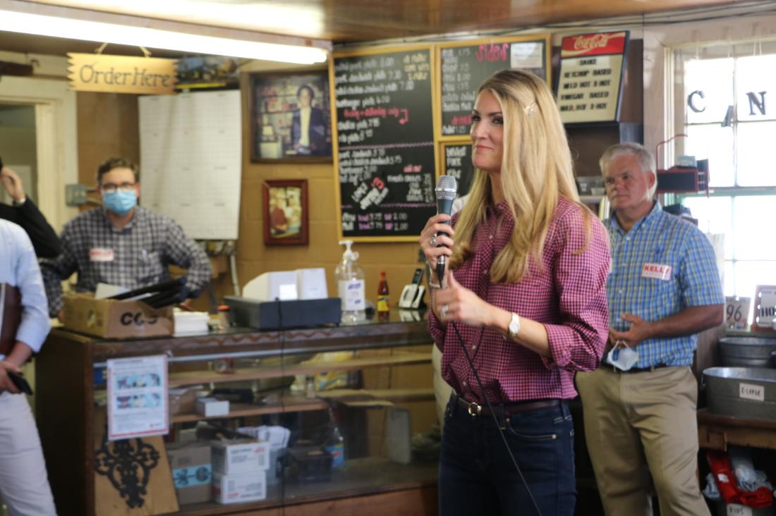 Kelly Loeffler at Oconee County Meet and Greet in Watkinsville, Georgia