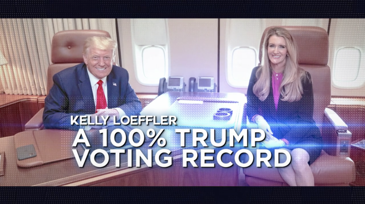Kelly Loeffler: A 100% Trump Voting Record