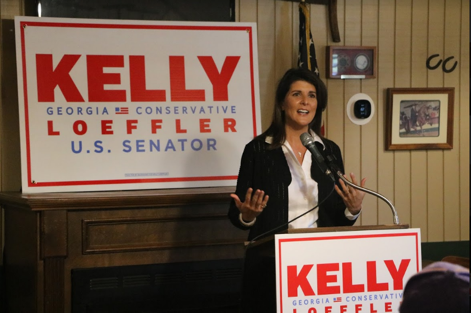 Photo Release: Nikki Haley Joins Senator Loeffler on Campaign Trail Ahead of Election Day 1