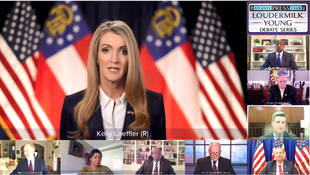 Kelly Loeffler Dominates the Field in First Debate 1