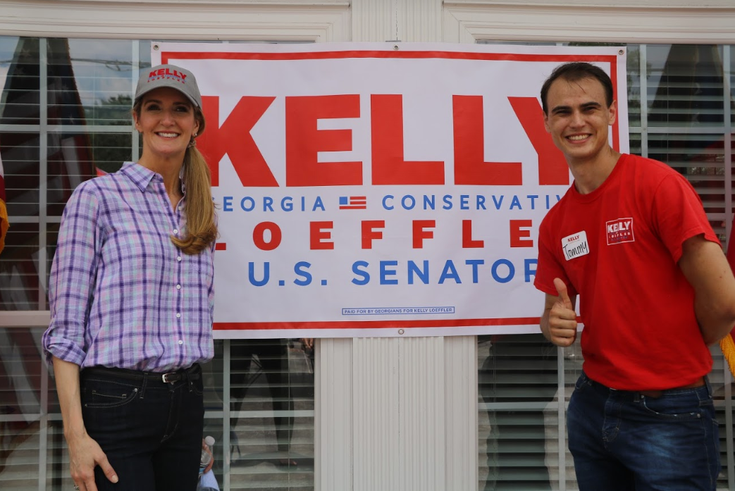 Kelly Loeffler at Henry County Meet-and-Greet in McDonough, Georgia