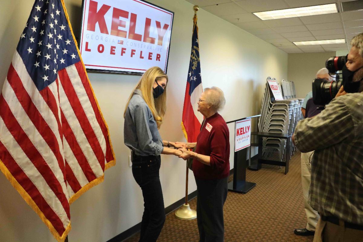 KELLY LOEFFLER Paulding County Meet-and-Greet in Dallas, Georgia