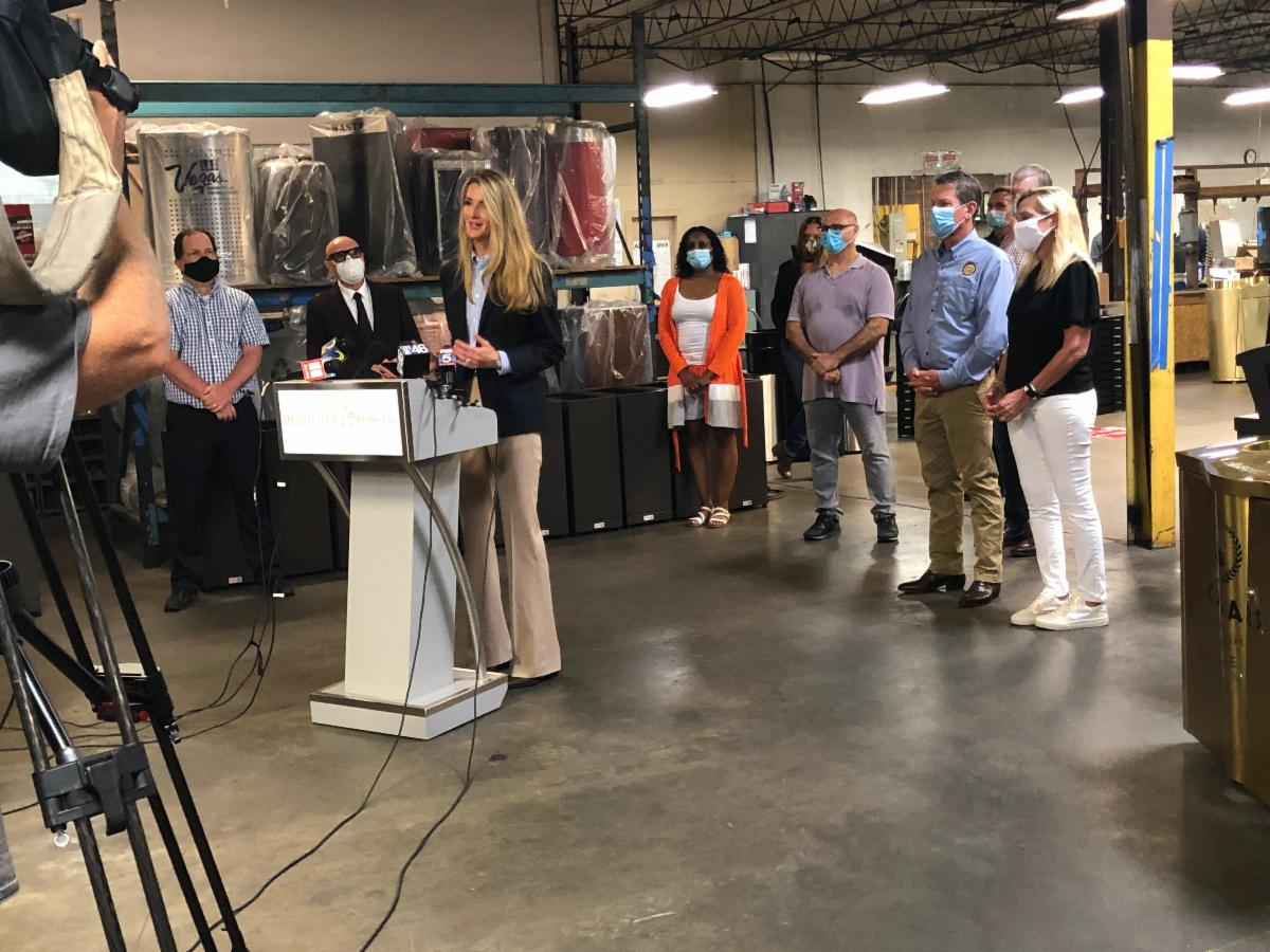 Senator Loeffler, Governor Kemp Tour Architectural Brass to Highlight PPP Funding