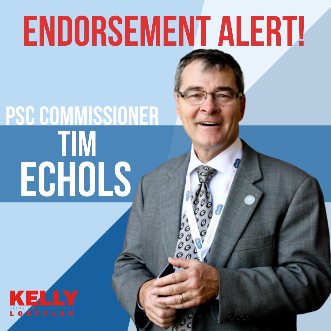 Tim Echols Endorses Kelly Loeffler
