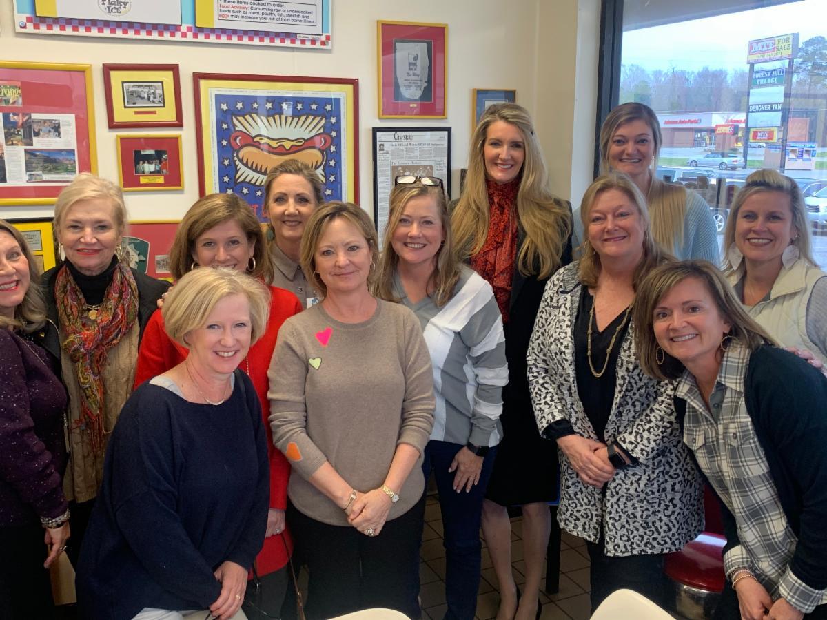 Kelly Loeffler Holds Meet & Greet in Macon