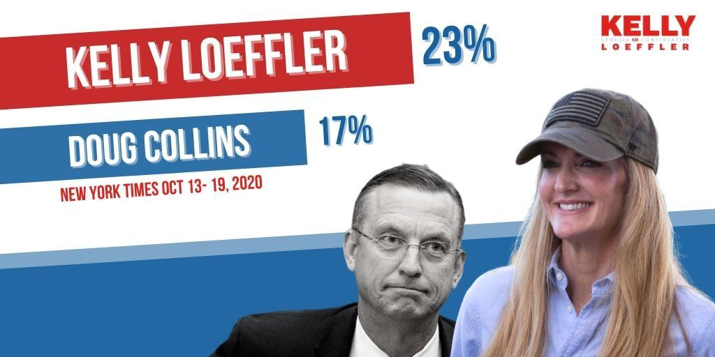 ICYMI: NYT Poll Shows Kelly Loeffler in Strong Position Two Weeks Out 1