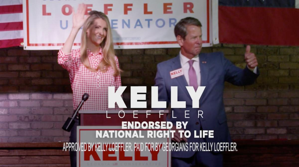 Senator Loeffler Releases New Ad Highlighting Support from Governor Kemp 1