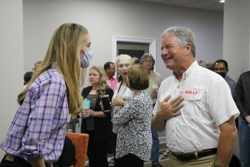 Kelly Loeffler at Barrow County Meet-and-Greet in Winder, Georgia