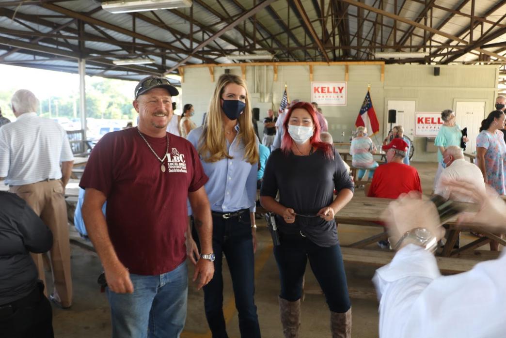 Kelly Loeffler at Wayne County Meet-and-Greet in Jesup, Georgia