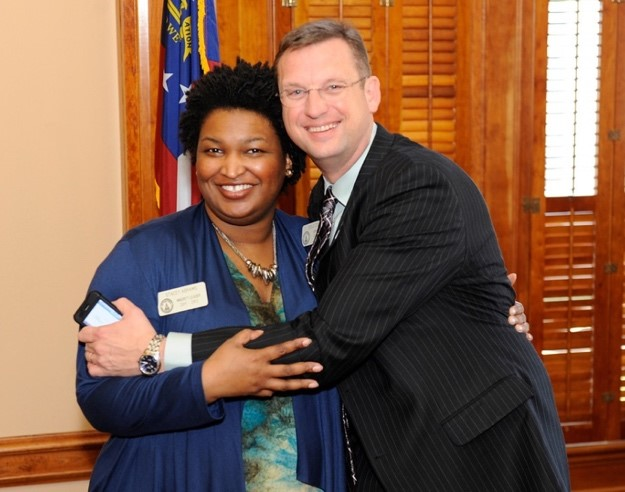 DOUG COLLINS & STACEY ABRAMS - A LOVE STORY FOR THE AGES