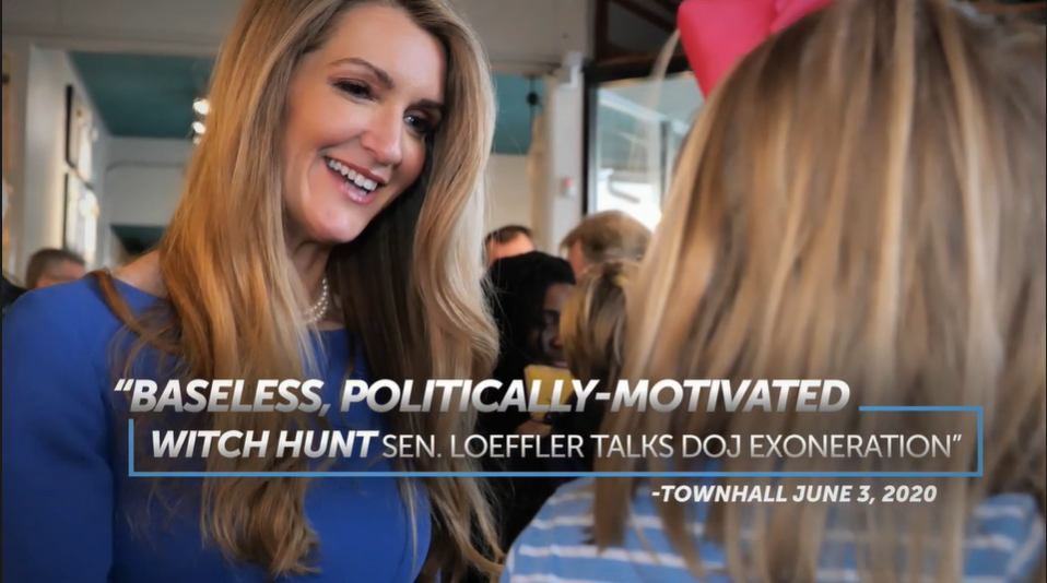 Sen. Loeffler Releases New Ad Highlighting Complete and Total Exoneration