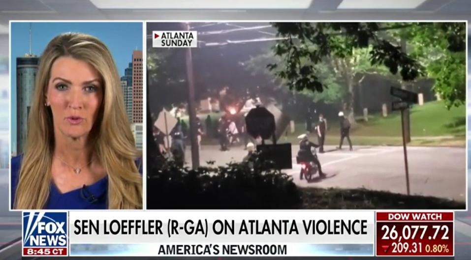 Kelly Loeffler Slams Anti-Police Dems on Fox News