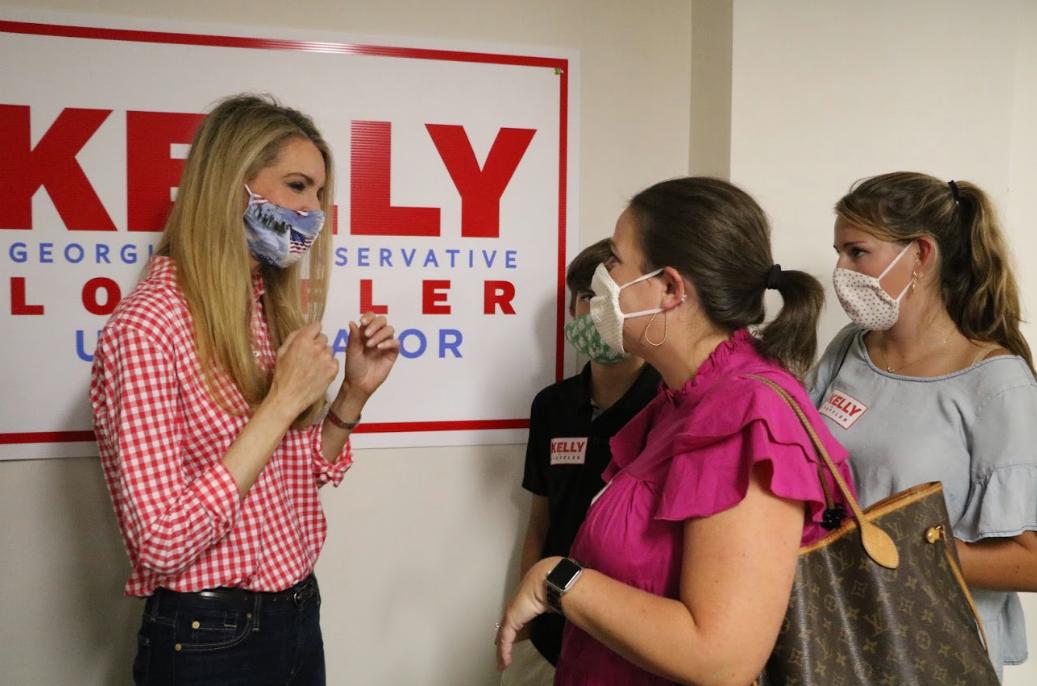 Kelly Loeffler Opens Field Office in Athens