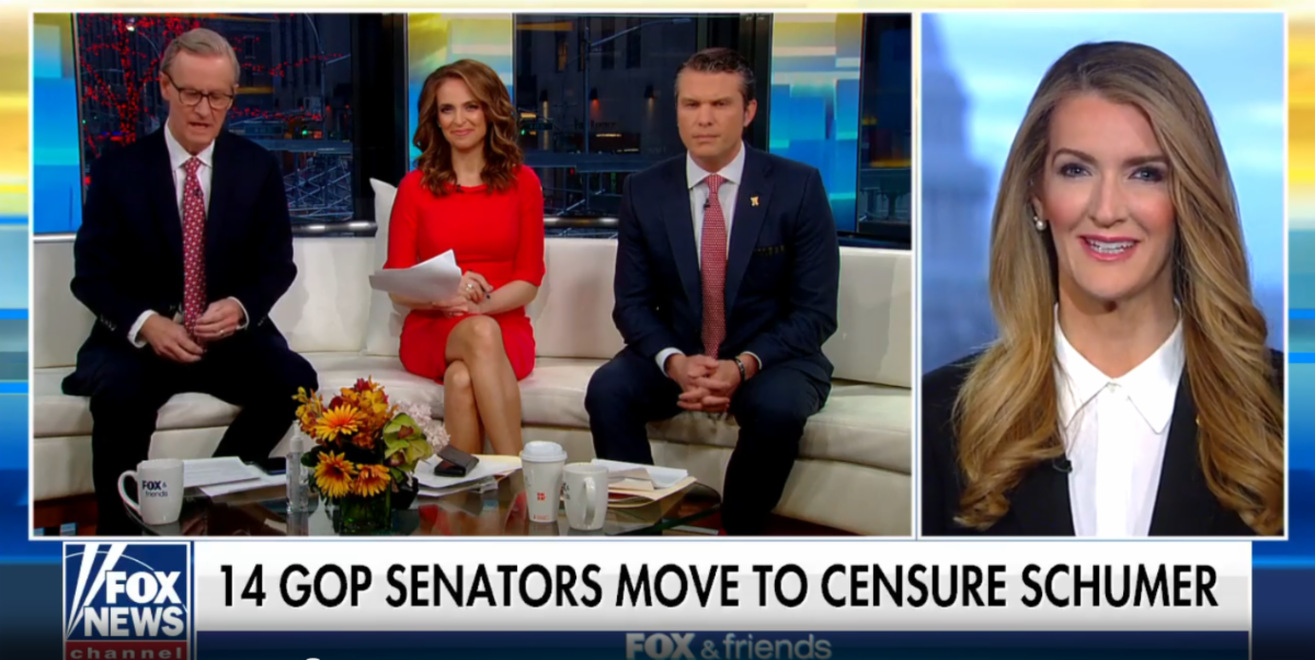Sen. Kelly Loeffler Rips Schumer, Dems for Voting Down 'Common-Sense' Born Alive Bill
