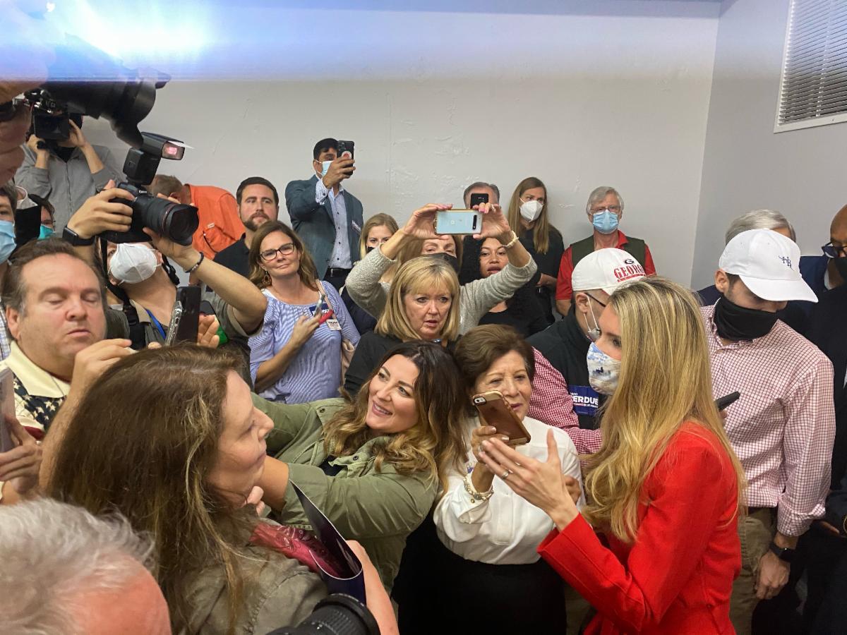 "Photo Release: Senator Rubio Headlines ""Save our Majority"" Rally for Senators Loeffler, Perdue 7"