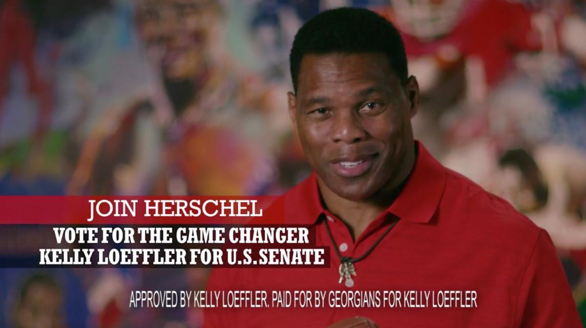 "Herschel Walker Endorses Kelly Loeffler as ""Game Changer"" in New Ad 1"