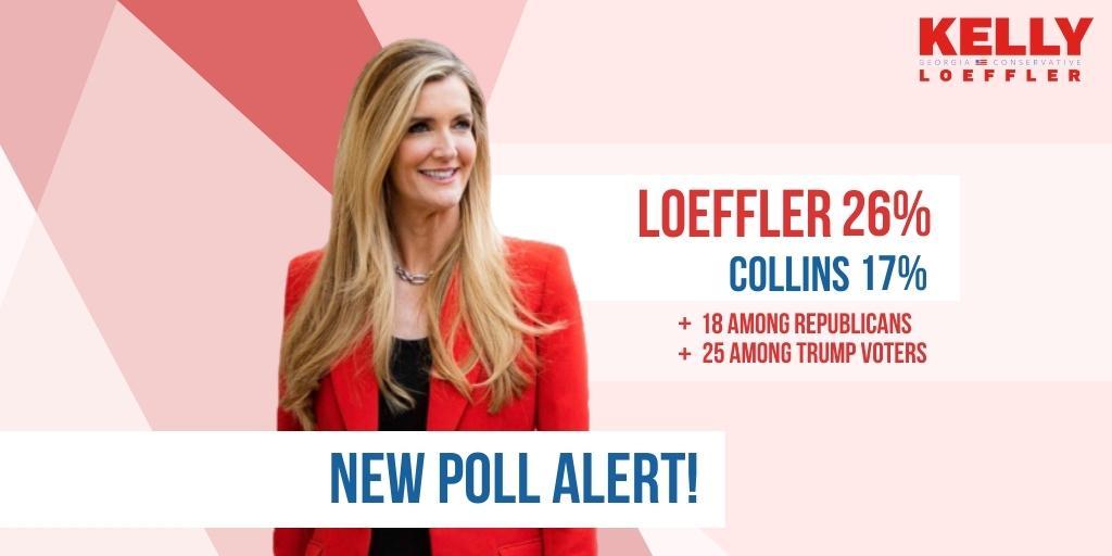 Kelly Loeffler new poll alert