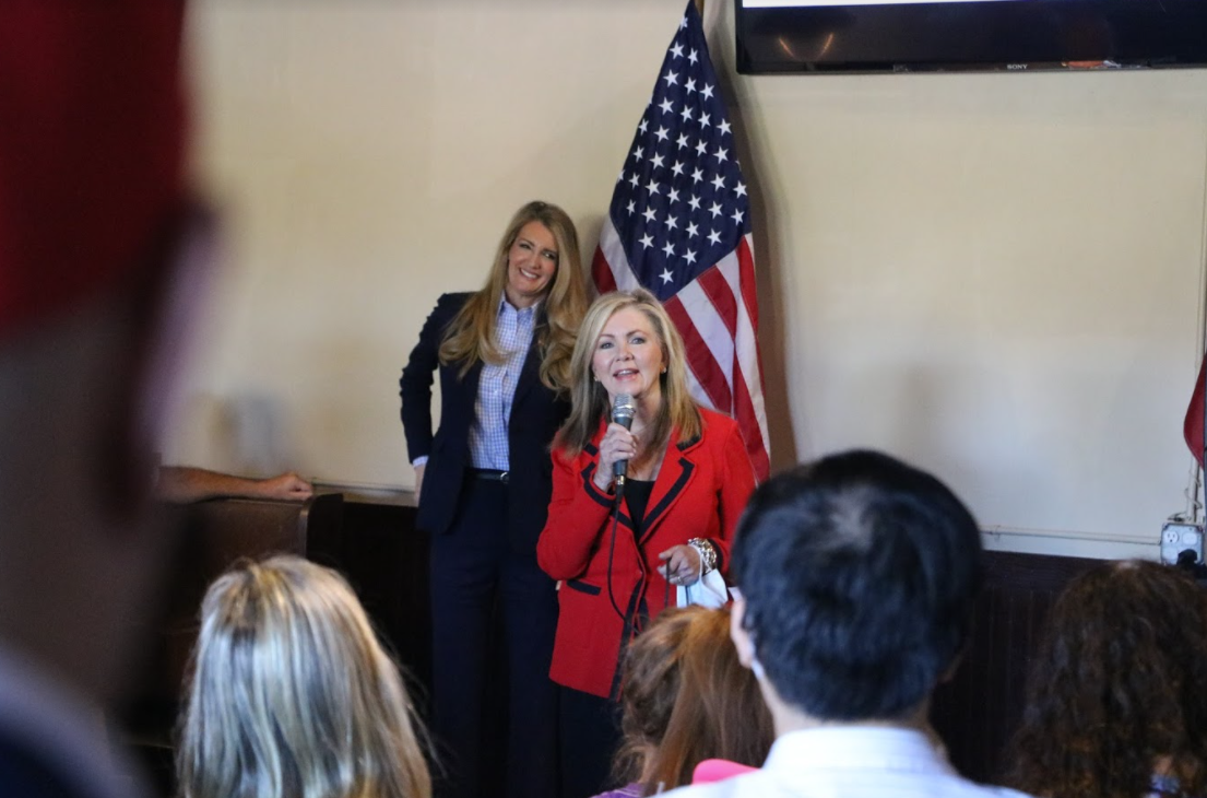 Photo Release: Kelly Loeffler Speaks at Faith & Freedom Policy Conference, Campaigns in Forsyth County with Senator Marsha Blackburn 3