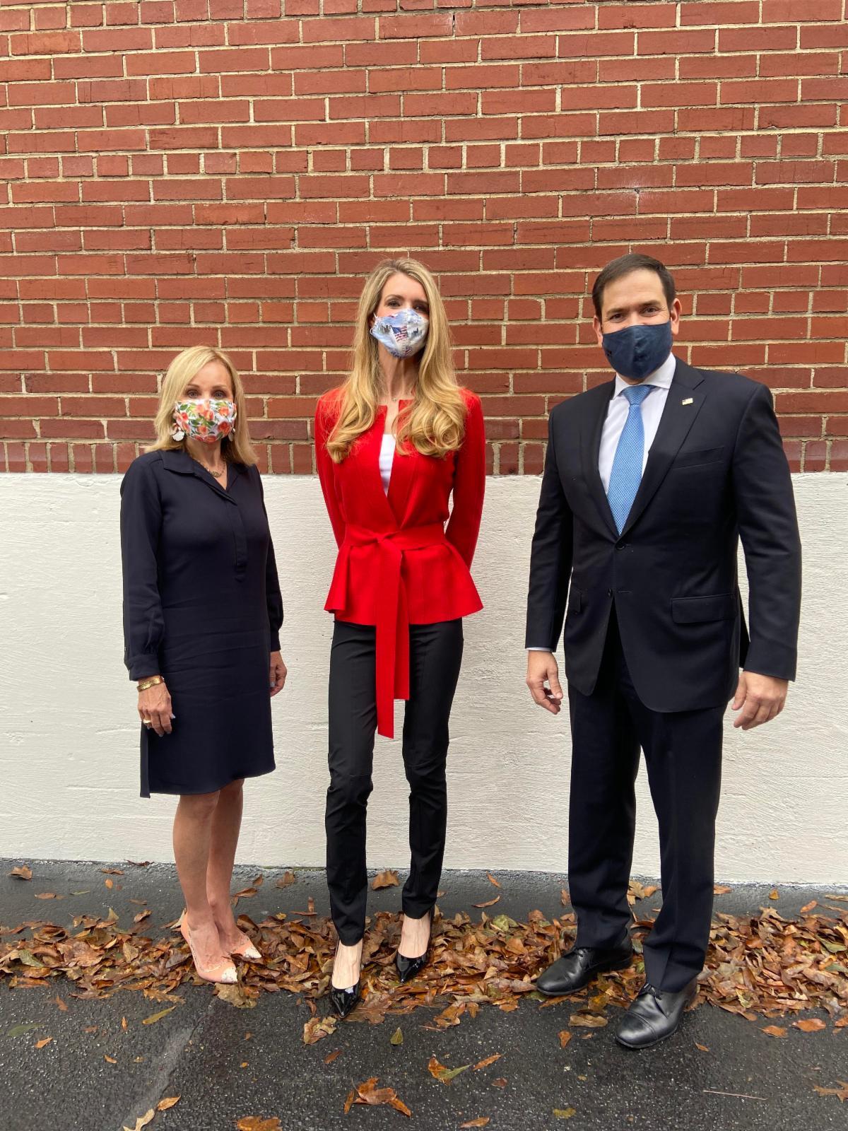 "Photo Release: Senator Rubio Headlines ""Save our Majority"" Rally for Senators Loeffler, Perdue 8"