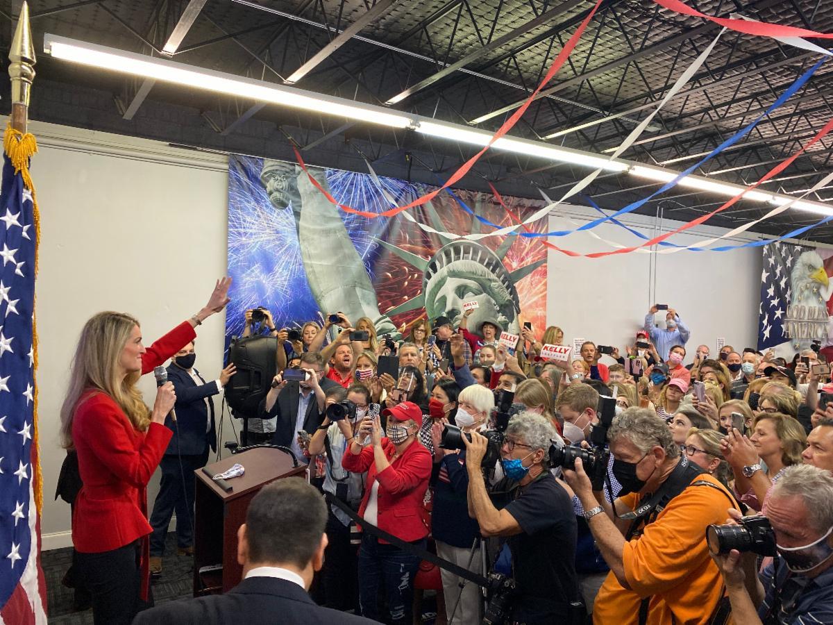 "Photo Release: Senator Rubio Headlines ""Save our Majority"" Rally for Senators Loeffler, Perdue 1"