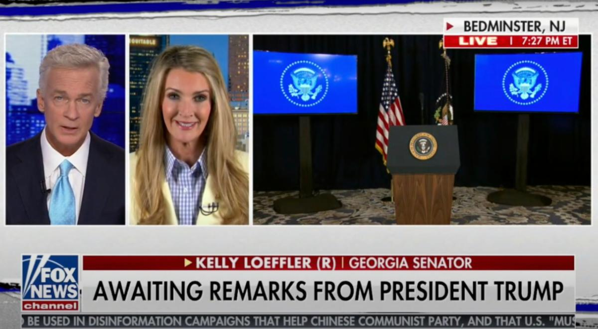 Kelly Loeffler Joins Fox News to Praise the President's Action to Help Workers and Families