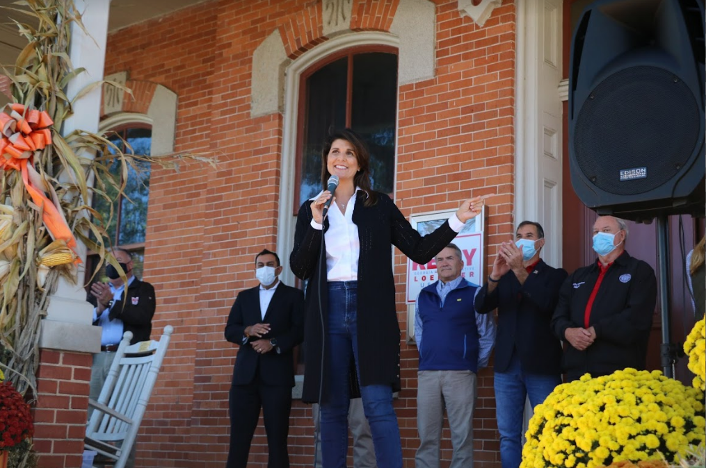 Photo Release: Nikki Haley Joins Senator Loeffler on Campaign Trail Ahead of Election Day 6