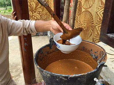 mixing mud