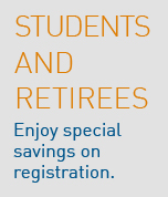 Student and retiree discounts graphic